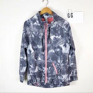 Mondetta printed athletic jacket Sz M